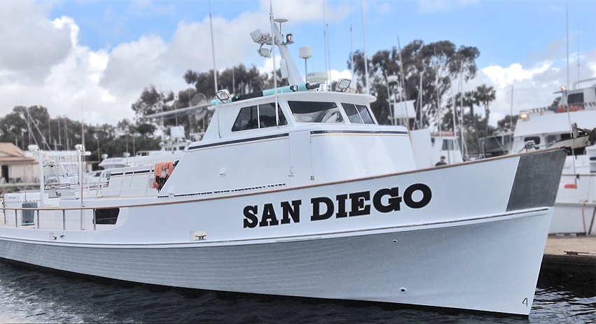 the boat san diego sportfishing